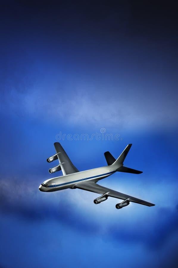 Avion à réaction images libres de droits