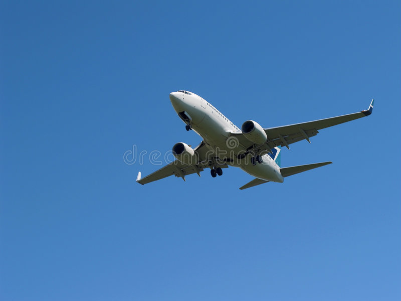 Avion à réaction photographie stock libre de droits
