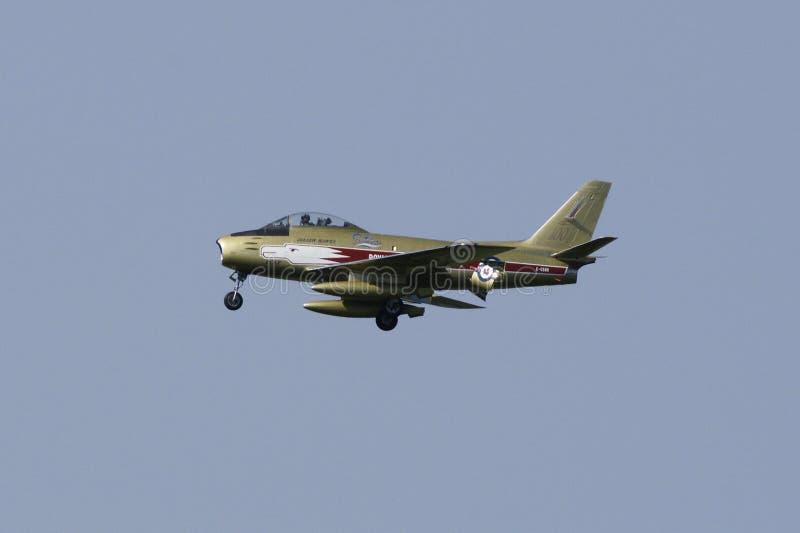 Avion à réaction d'Airshow photo libre de droits
