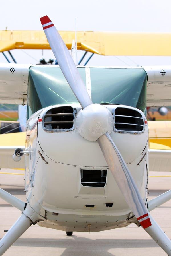 Avion à réaction de charte image stock