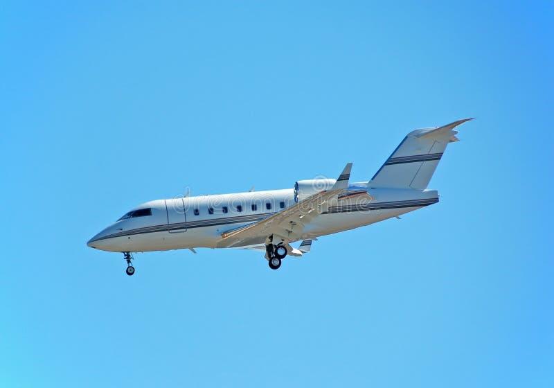 Avion à réaction de charte privé photo libre de droits
