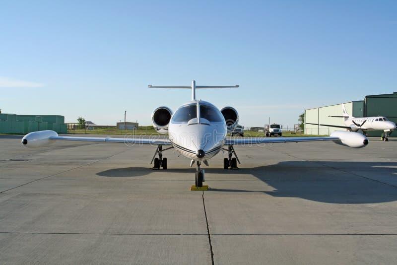 Avion à réaction de Lear photos stock