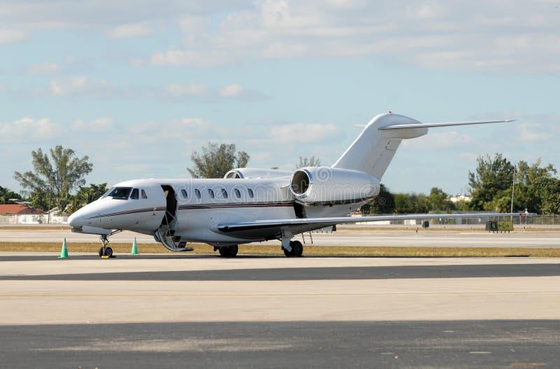 Avion à réaction de luxe images stock