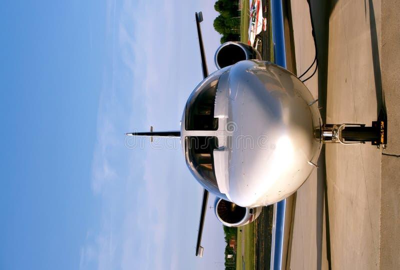 Avion à réaction de petite entreprise image libre de droits