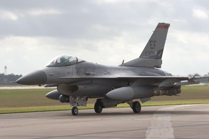 Avion à réaction F/16 images libres de droits