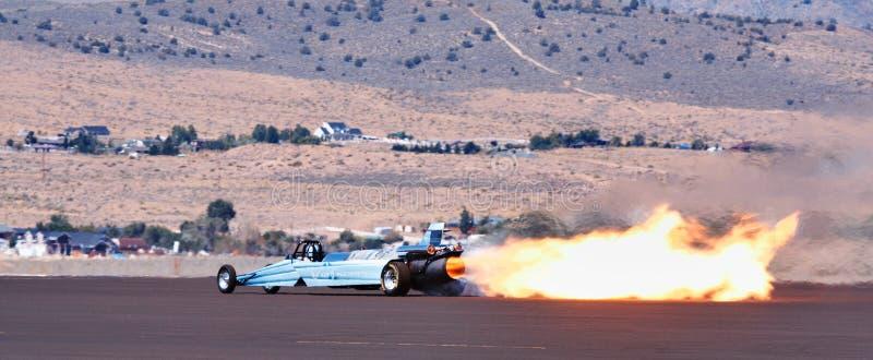 Avion à réaction obtenu Dragster de vitesse photographie stock