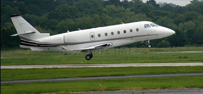 Avion à réaction privé photo stock