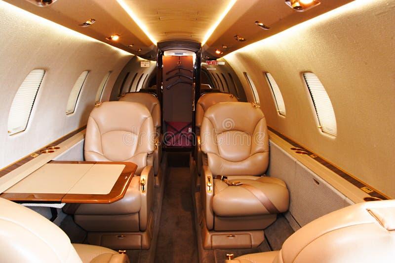 Avion à réaction privé image stock