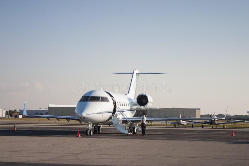 Avion à réaction privé photographie stock