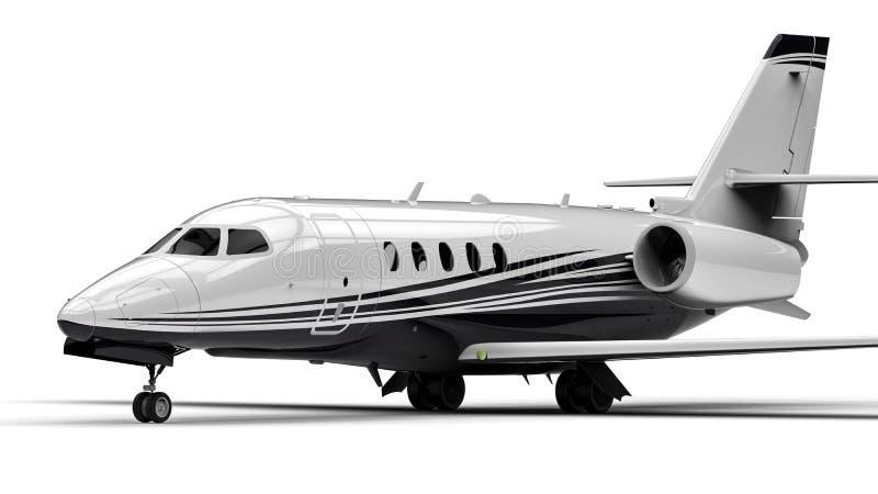 Avion à réaction privé illustration libre de droits
