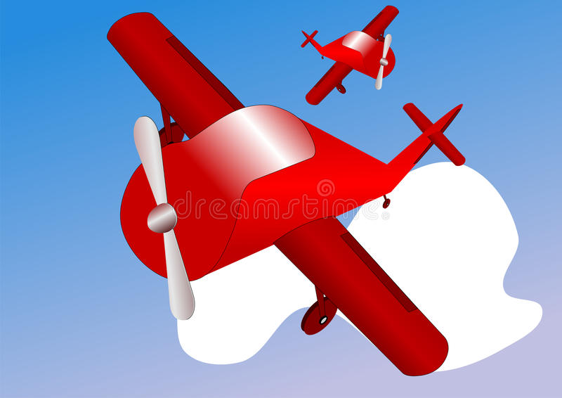 Avion imagen de archivo