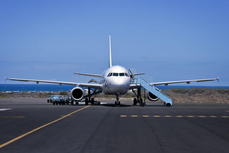 Avion. photo stock