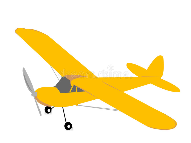 Avion illustration de vecteur