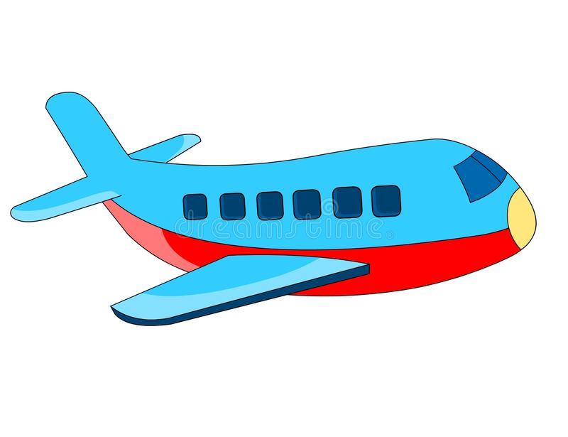 avion illustration libre de droits