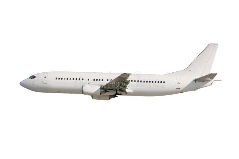 Avion blanc photographie stock libre de droits