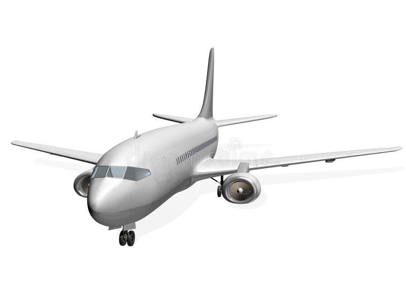 Avion-côté illustration stock