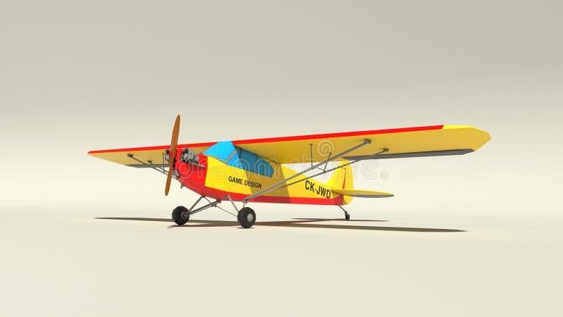 avion 3d illustration libre de droits