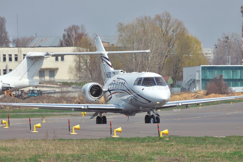 Avion d'affaires du colporteur 850XP photos stock