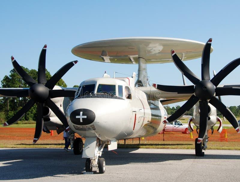 Avion d'espion de marine photographie stock libre de droits