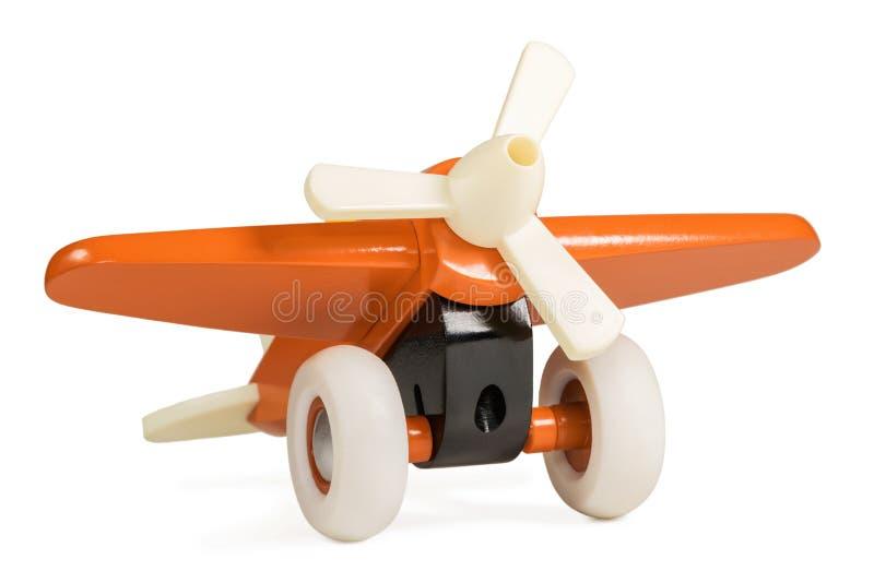Avion d'orange d'enfants images libres de droits
