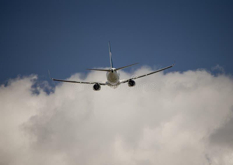 Avion de Boeing 737 image libre de droits