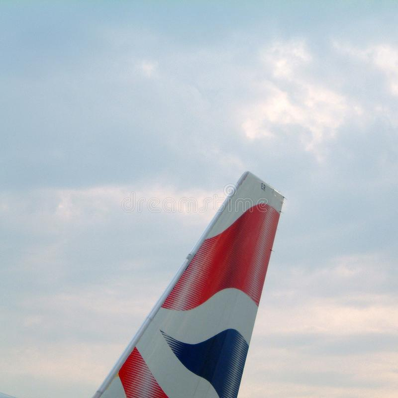 Avion de British Airways photos libres de droits