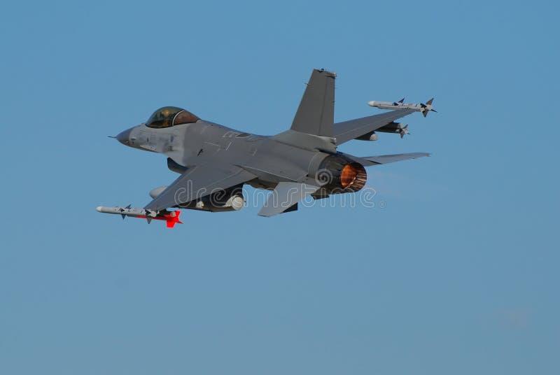Avion de chasse F-16 photographie stock libre de droits