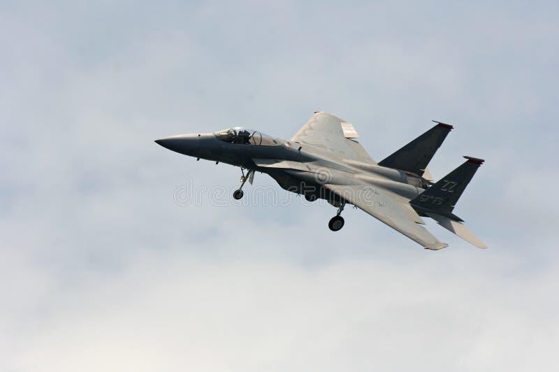 Avion de chasse F-16 photo libre de droits