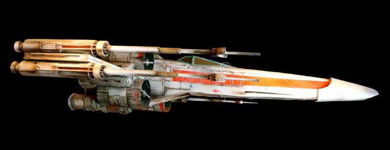 Avion de chasse de Star Wars photographie stock libre de droits