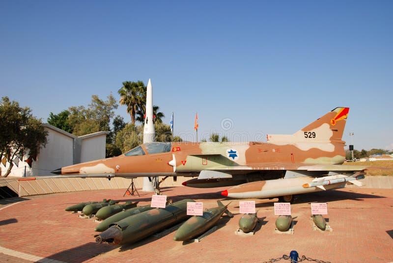 Avion de combat polyvalent Kfir, fait par Israel Aircraft Industries images stock