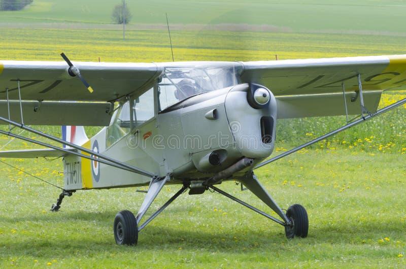 Avion de cru d'Auster 6A Tugmaster photos libres de droits