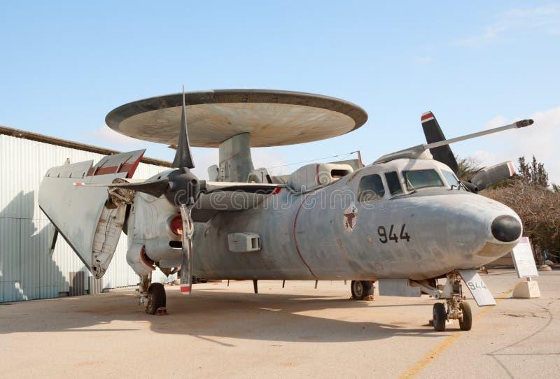 Avion de Grumman E-2 Hawkeye RSMA photo libre de droits