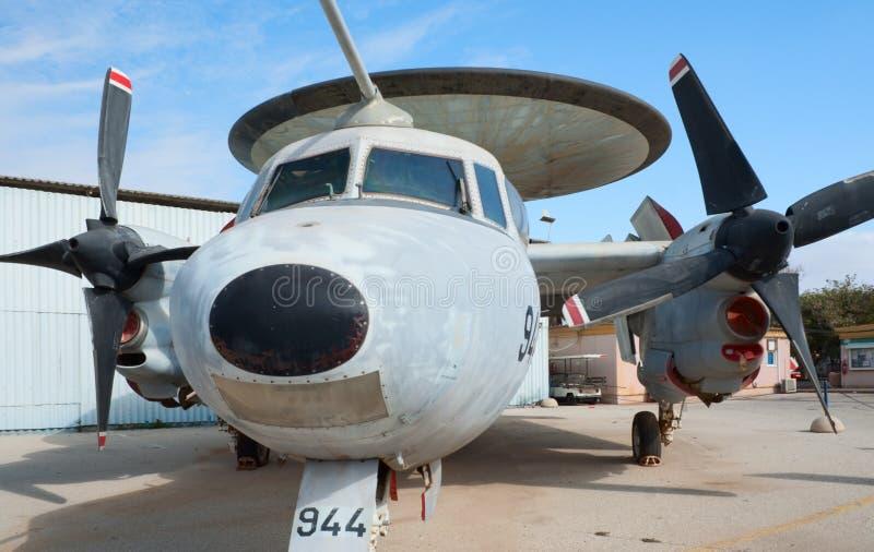 Avion de Grumman E-2 Hawkeye RSMA images stock