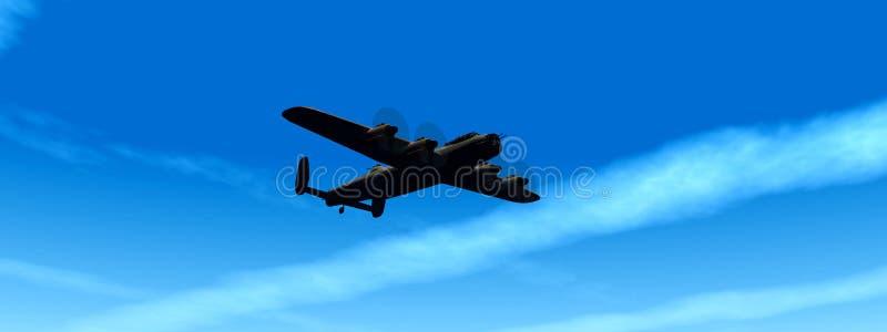 Avion de guerre 2 illustration libre de droits