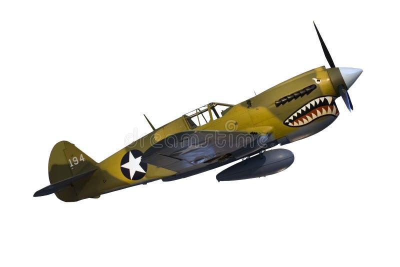 Avion de guerre de cru image stock