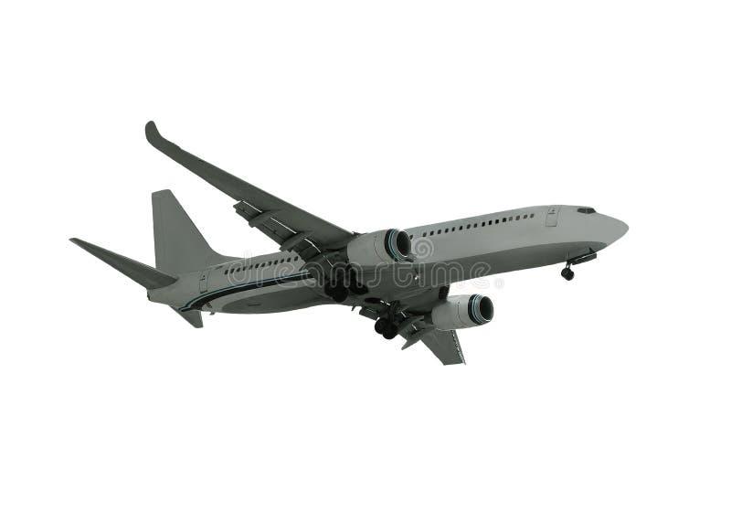 Avion de ligne à réaction photo stock