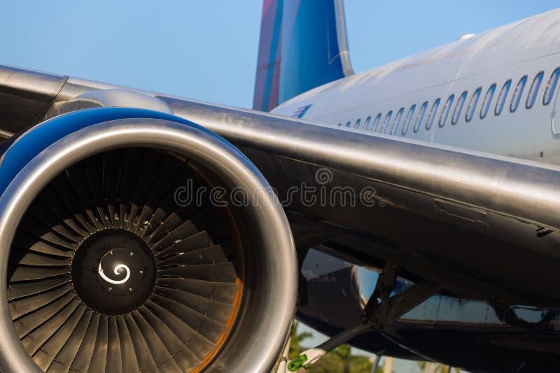 Avion de ligne de Boeing 757 photos stock
