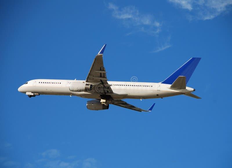 Avion de passagers de Boeing 757 image libre de droits