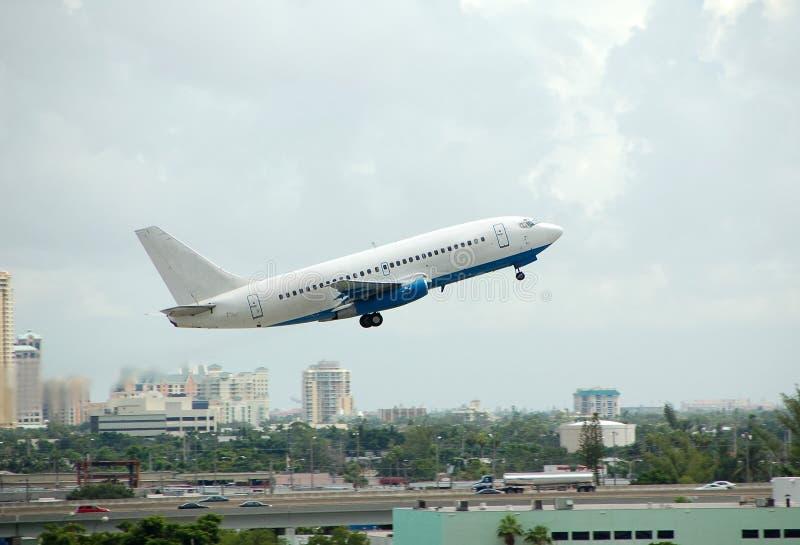 Avion de passagers de Boeing 737 image stock