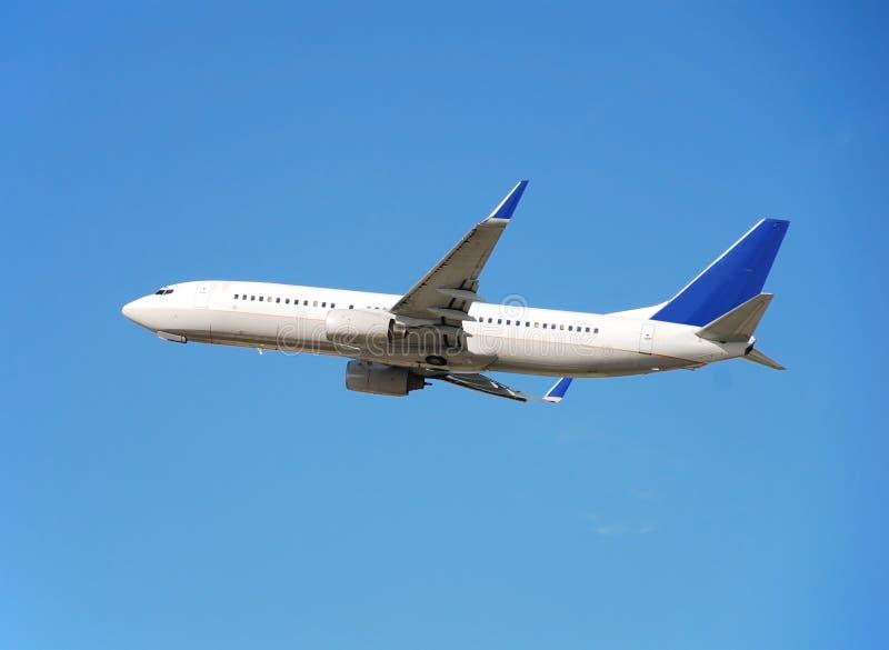 Avion de passagers de Boeing 737 image libre de droits