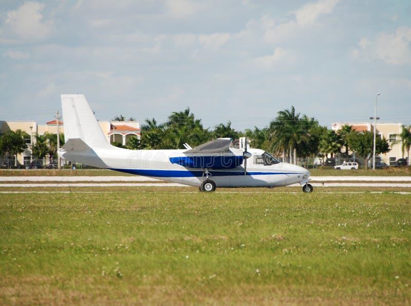 Avion de propulseur images libres de droits