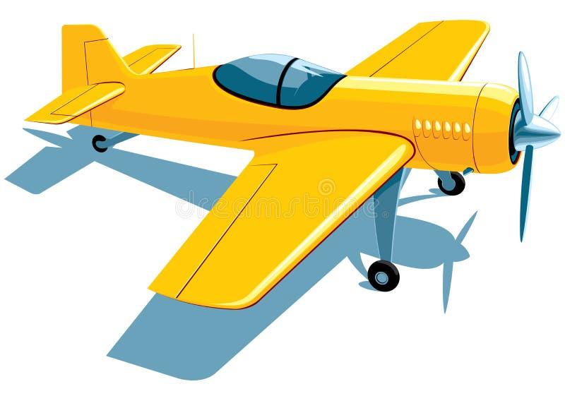 Avion de sport illustration de vecteur