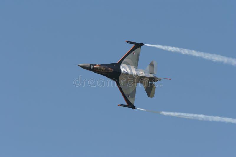 Avion F-16 photo libre de droits