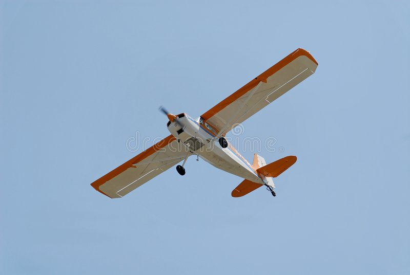 Avion léger image stock