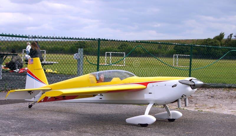 Avion modèle photo libre de droits