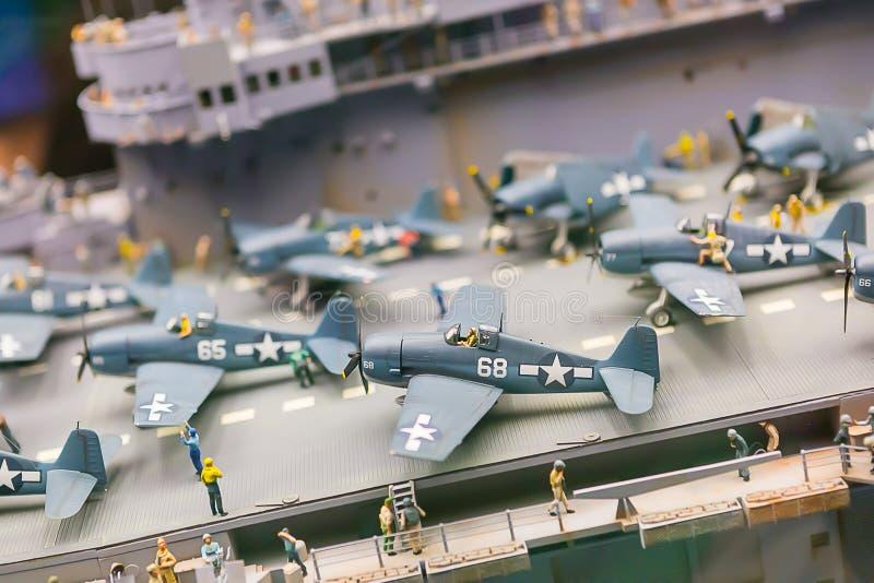 Avion modèle photos libres de droits