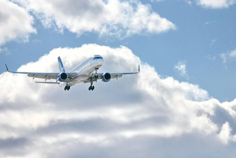 Avion moderne photographie stock libre de droits