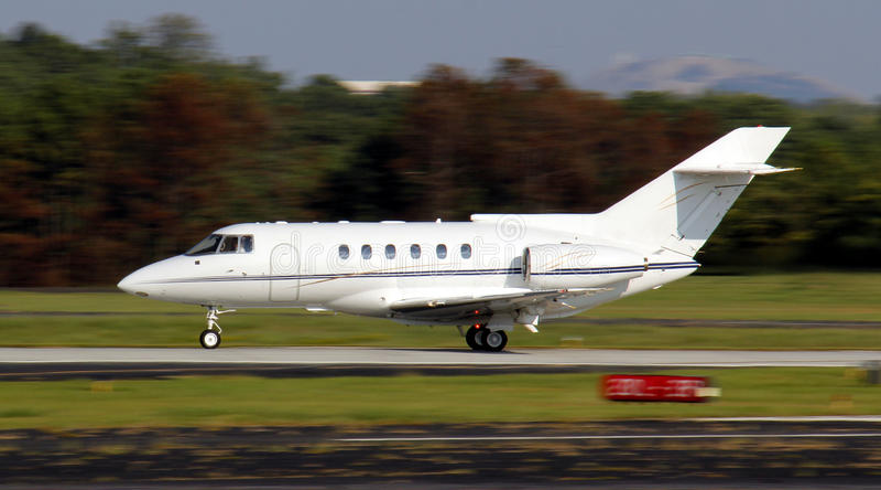 Avion privé photographie stock libre de droits