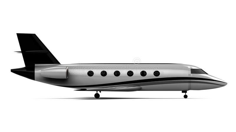 Avion privé illustration stock