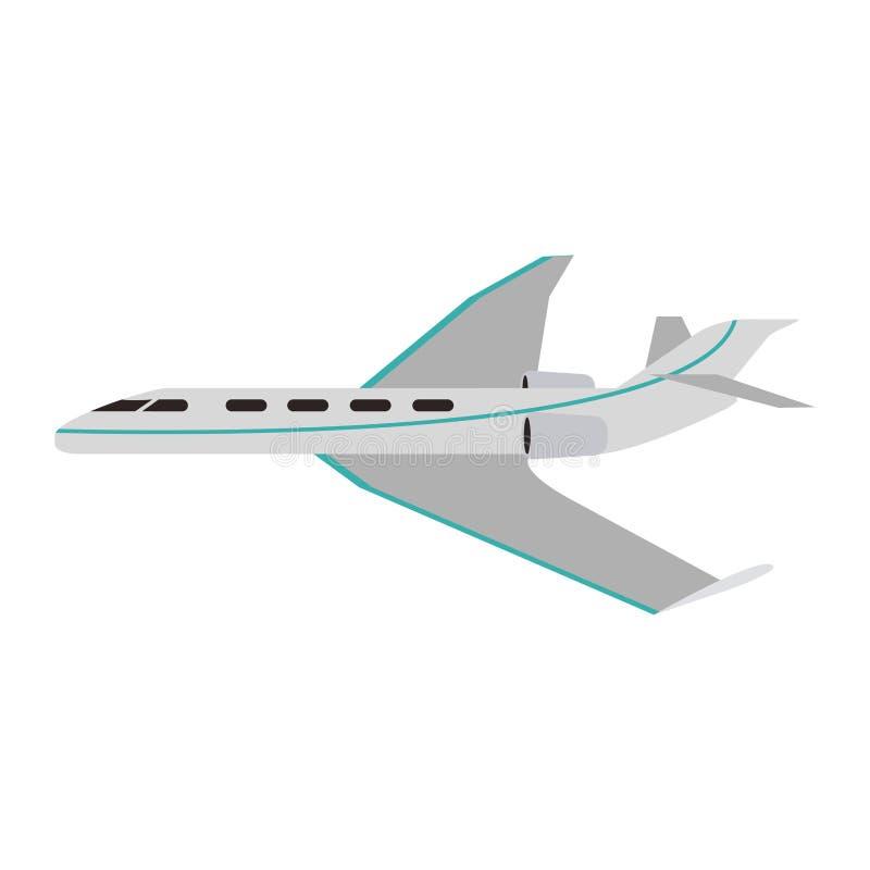 Avion privé de jet illustration de vecteur